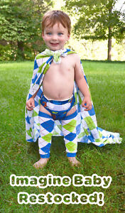 Imagine Baby One Size Bamboo Cloth Diapers