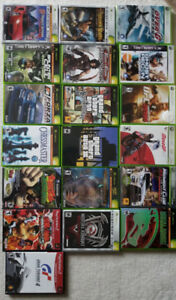 LOTS..xbox 360 games andfew other ...