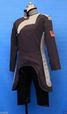Mass Effect 2 Scientist Uniform Cosplay Costume Custom Made{FHC}