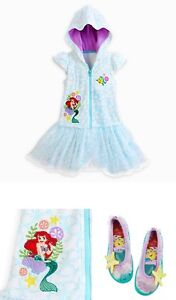 Disney Store Ariel Swim Collection for Girls. Size 3