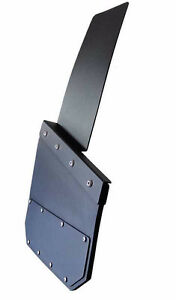 Universal Black Mud Flaps- powder coated  marine aluminum Peterborough Peterborough Area image 9