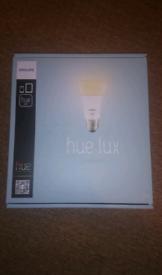 Philips Hue Lux Starter Kit E27 EDISON SCREW ES not bayonet B22 bulb