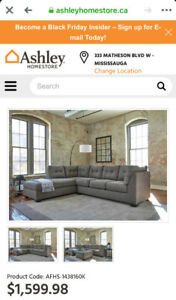 Ashley sectional sofa for sale
