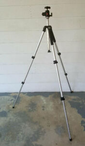 Sturdy Manfrotto 055CL Tripod and 468MGRC2 Ball Head For Sale