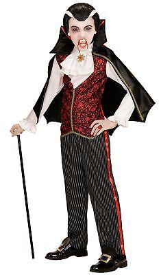 Lord Draco Vampir Kinderkostüm NEU - Jungen Karneval - Vampir Lord Kinder Kostüme