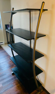 Tall 5 Tier Curved Shelf - Perfect Condition