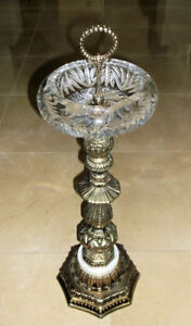 Vintage Ashtray/Candy Holder on Stand