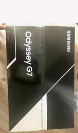 Samsung odyssey g7 27 Inch gaming monitor