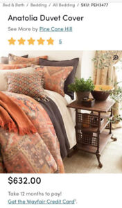 Anatolia Duvet Cover by Pine Cone Hill Queen Size