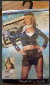 """FLIGHT ATTENDANT"" SIZE SMALL, WOMEN'S HALLOWEEN COSTUME- $10"