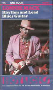 WANTED ,A LONNIE MACK VHS VIDEO.. OR DVD!!!