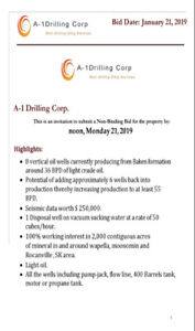 Oil property, Drilling Rig, Water Truck, for sale in Wapella, SK