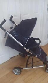 ZIa 4 x. Petite. Star. Stroller in black