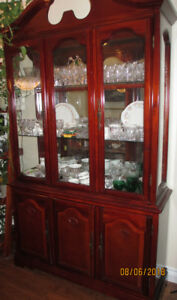 Thanksgiving is coming! Beautiful China Cabinet...