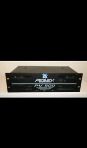 PEAVEY PV 500 WATT POWER AMPLIFIER