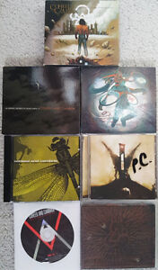 Coheed and Cambria CD Collection - AUTOGRAPH INCLUDED!
