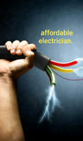 Affordable electrician. Free quotes available