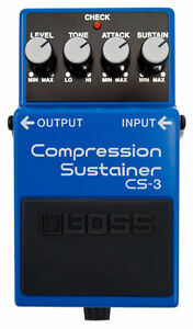 Boss Compression Sustainer Pedal CS 3 NEW