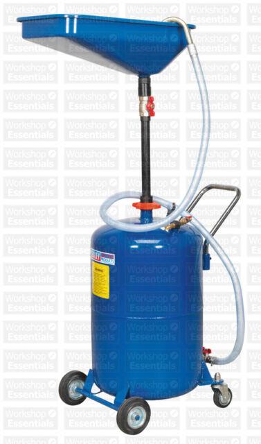 Sealey Waste Oil Drainer 65ltr Air Discharge AK451DX Workshop Garage Equipment