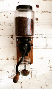 Wall Mounted Antique Coffee Grinder