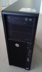 HP Z420 Workstation - Xeon E5-1603 2.8Ghz Quad 8GB RAM 1TB HDD