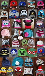 Custom crochet hats!