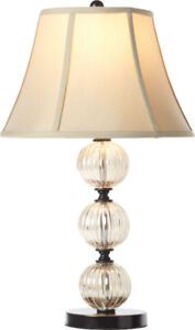 Mercury Glass Table Lamp, New