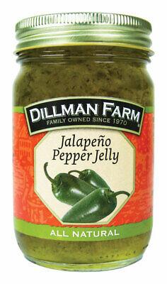 Dillman Farm  All Natural  Jalapeno Pepper  Jelly  16 oz. Jar