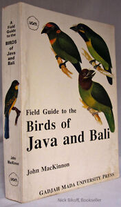 Field guide to the birds of Java and Bali Paperback BIRD BOOK