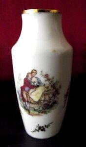vase miniature porcelaine Limoges antiquité