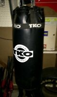 Barely used TKO 50 lbs Punching Bag