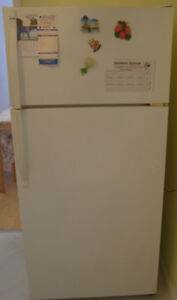 White Kenmore Refrigerator for sale