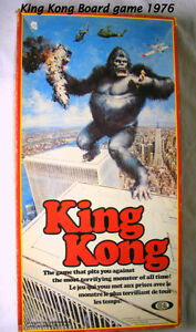 Vintage 1976, King Kong, board game, original box,