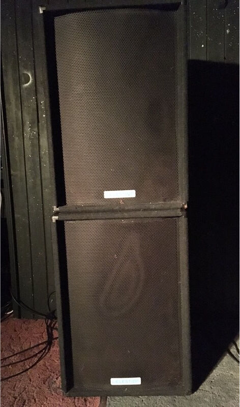 Celestion QX152 Active PA Speakers ***SLIGHT FAULT***