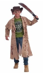 Zombie Hunter Costume (for child ages 8-10) in EUC