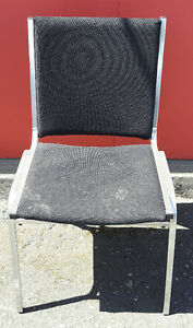 Stacking Metal Frame Chairs
