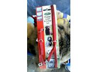 *****. NEW/ UNUSED RED PUPPY COLLAR AND LEAD SET. ONLY £4!!!