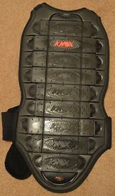 Knox Ricochet Back Protector 9 Plate Motorbike