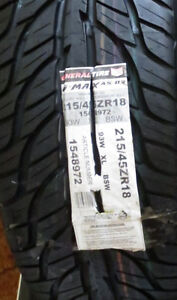 2 NEW GENERAL TIRE G-MAX  AS-03  215/45ZR/18 XL Kitchener / Waterloo Kitchener Area image 4