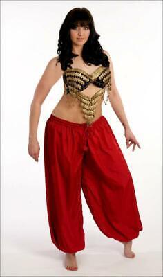 BELLY DANCE RENAISSANCE DRESS-UP PIRATE GYPSY HAREM GENIE COSTUME PANTS #P54