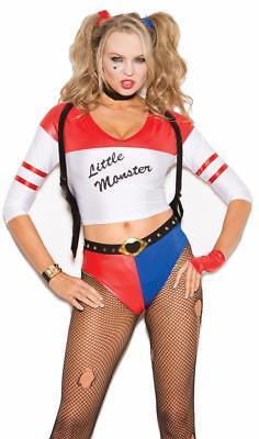 Wild Child Costume Harley Quinn Joker Little Monster Top Booty Shorts 99005