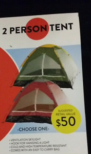 Brand new 2 Person Tent