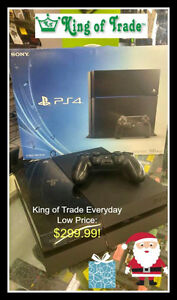 PS4 - 500gb - King of Trade!