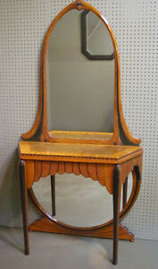 Antique Vanity and Chair