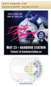 2 tickets for Dirty Dancing @ Harbour Station