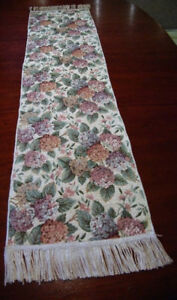 "Table Runner 46"" x 12"" - As New"