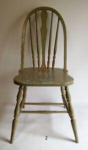 Chaises Antiques en Bois - Antique Painted & Wooden Chairs West Island Greater Montréal image 2