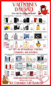 VALENTINE'S DAY SPECIAL ON ALL FRAGRANCES FOR MEN AND WOMEN
