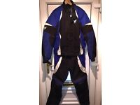 Frank Thomas Aqua force two piece motorcycle suit