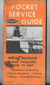 Mercury pocket guide prior to 1967